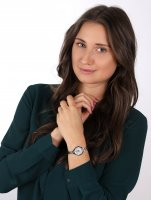 Adriatica A3758.512FQ zegarek srebrny klasyczny Bransoleta bransoleta