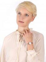 Adriatica A3758.912FQ zegarek różowe złoto klasyczny Bransoleta bransoleta