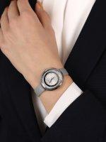 Adriatica A3771.5G43QZ zegarek srebrny klasyczny Pasek pasek