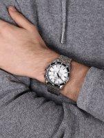 Adriatica A8202.Y113CH zegarek srebrny klasyczny Bransoleta bransoleta