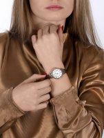 Anne Klein AK-2157SVBN zegarek fashion/modowy Pasek