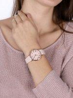 Anne Klein AK-3718LPRG zegarek różowe złoto klasyczny Bransoleta bransoleta