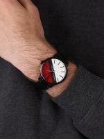 Armani Exchange AX2725 zegarek czarny klasyczny Fashion bransoleta