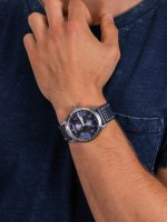 Davosa 161.585.45 męski zegarek Pilot pasek