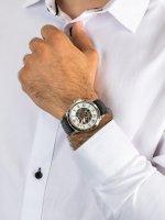automatyczny Zegarek męski Fossil Grant GRANT skeleton ME3101 - duże 5