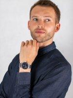 automatyczny Zegarek męski Seiko Presage Presage Blue Enamel Automatic SPB091J1 - duże 4