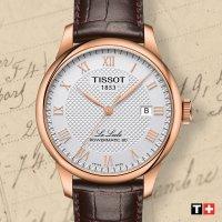 automatyczny Zegarek męski Tissot Le Locle LE LOCLE POWERMATIC 80 T006.407.36.263.00 - duże 8