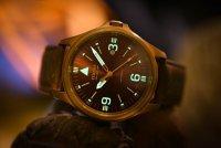 zegarek Traser TS-108073 automatyczny męski P67 Officer Pro P67 Officer Pro Automatic Bronze Brown