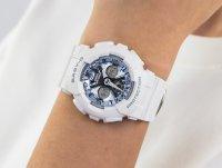 biały Zegarek Casio Baby-G BA-130-7A2ER - duże 6