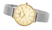 Bisset BIS059 zegarek złoty klasyczny Klasyczne bransoleta