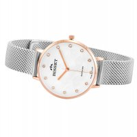 Bisset BIS060 zegarek złoty klasyczny Klasyczne bransoleta