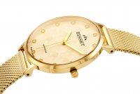 Bisset BIS061 zegarek złoty klasyczny Klasyczne bransoleta