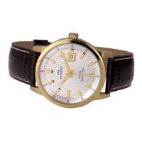 Bisset BIS065 zegarek złoty klasyczny Klasyczne pasek