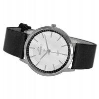 Bisset BIS068 zegarek srebrny klasyczny Klasyczne pasek