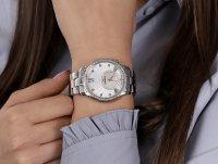 Bisset BSBE03SWSM05BX damski zegarek Biżuteryjne bransoleta