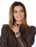 Bisset BSBE22RIBR05AX zegarek klasyczny Biżuteryjne