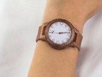 Puma P1002 Reset klasyczny zegarek brązowy