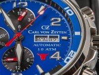 Carl von Zeyten CVZ0047BLMB męski zegarek NO. 47 bransoleta