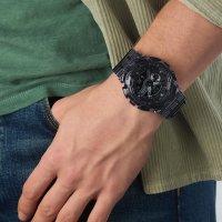 Casio GA-110SKE-8AER zegarek pomarańczowy sportowy G-Shock pasek