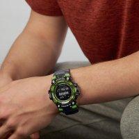 Casio GBD-100SM-1ER zegarek czarny sportowy G-SHOCK Original pasek