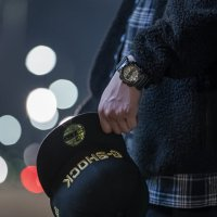 Casio GM-110NE-1AER zegarek męski sportowy G-SHOCK Original pasek