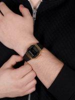 Casio Vintage A168WEGB-1BEF męski zegarek VINTAGE Maxi bransoleta