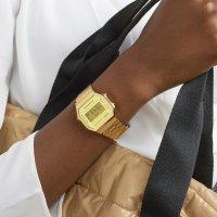 Casio Vintage A168WEGM-9EF zegarek męski VINTAGE Maxi złoty