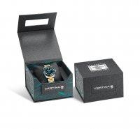 Certina C032.807.22.041.10 zegarek srebrny klasyczny DS Action bransoleta