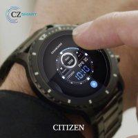 Citizen MX0007-59X zegarek czarny sportowy CZ Smart bransoleta