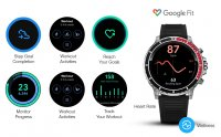 Citizen MX0007-59X zegarek męski sportowy CZ Smart bransoleta