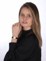 Cluse CL50008 La Vedette Rose Gold White/Black zegarek damski klasyczny mineralne