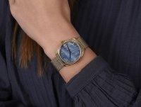 Cluse CW0101212007 zegarek złoty klasyczny Feroce bransoleta