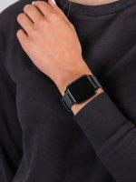 zegarek Garett 5903246286397 Smartwatch Garett Lady Viki czarny damski z krokomierz Damskie