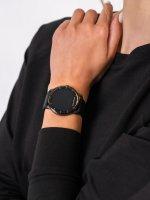 zegarek Garett 5903246286502 Smartwatch Garett Lady Lira czarny damski z krokomierz Damskie