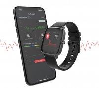zegarek Strand S716USBBVB czarny Smartwatch