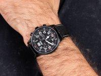 czarny Zegarek Adriatica Pasek A1076.B224CH - duże 6