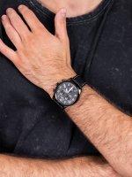 czarny Zegarek Adriatica Pasek A8267.B224CH - duże 5