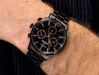 czarny Zegarek Bisset Klasyczne BSDF34BIBZ05AX - duże 6