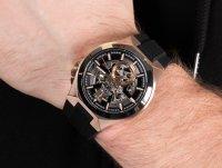 czarny Zegarek Bulova Automatic 98A177 - duże 6