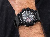 czarny Zegarek Casio G-SHOCK Master of G GWG-100-1A8ER - duże 6