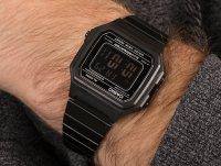 czarny Zegarek Casio VINTAGE Maxi B650WB-1BEF - duże 6