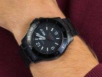 czarny Zegarek Fossil FB-02 FS5688 - duże 6