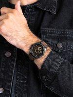 czarny Zegarek Fossil Machine FS4656 - duże 5