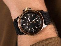 czarny Zegarek Glycine Combat GL0093 - duże 6