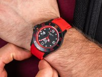 ICE Watch ICE.015782 Ice steel - Black red Rozm. L zegarek klasyczny ICE-Steel