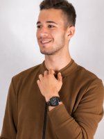czarny Zegarek Lorus Klasyczne RH955KX9 - duże 4