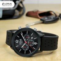 zegarek Lorus RT349HX9 czarny Sportowe