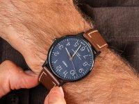 czarny Zegarek Timex Waterbury TW2R25700 - duże 6