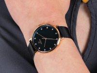 zegarek Obaku Denmark V186LXVLML różowe złoto Slim