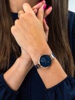 damski Zegarek fashion/modowy Obaku Denmark Pasek V201LDVLML bransoleta - duże 5